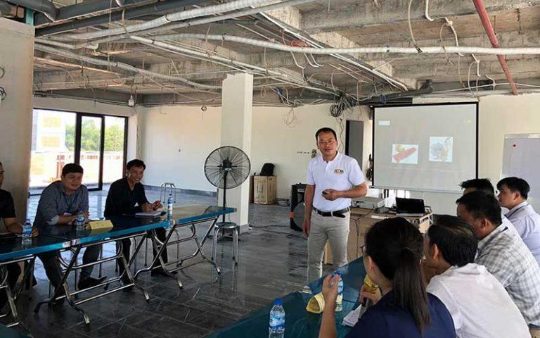 atm asia đào tạo nghiệp vụ cho nhân viên
