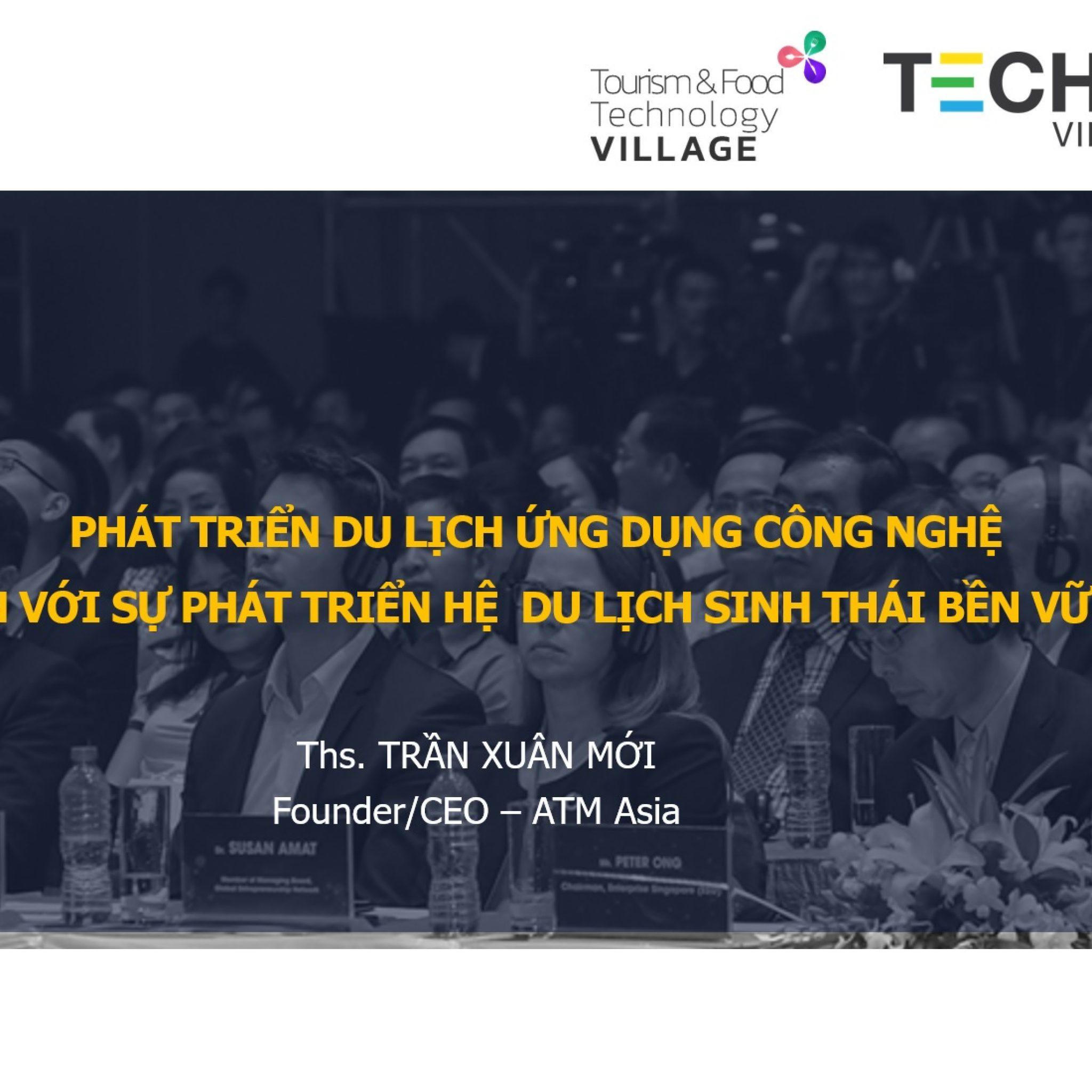 Tran Xuan MOI Founder Ceo ATM Asia techfest